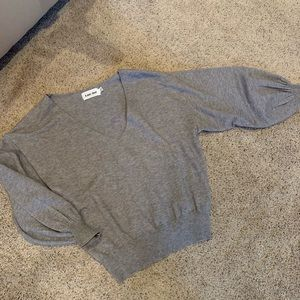 Line and Dot wool sweater
